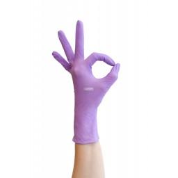 Перчатки нитриловые NitriMAX сиреневые